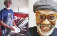 RMD reacts after being mocked for wearing his wife's bonnet and washing plates