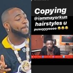 "Davido calls Eedris Abdulkareem a ""pu**y"" after the veteran rapper praised him as ""the only Odogwu"""