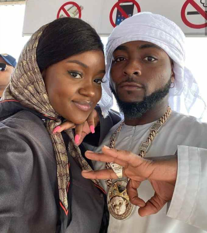 Davido And Fiancee Chioma Allegedly End Their Relationship ❤️