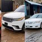 Bobrisky heads out in convoy to surprise his father on his birthday (Video)