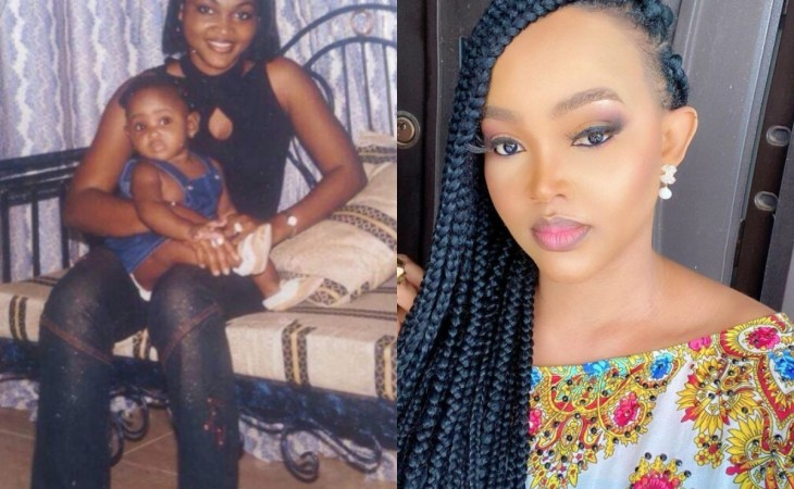 Wonderful: Mercy Aigbe shares epic throwback photo with her daughter, Michelle 1