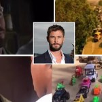 Hollywood star, Chris Hemsworth reposts Ikorodu Bois recreation of Extraction 1