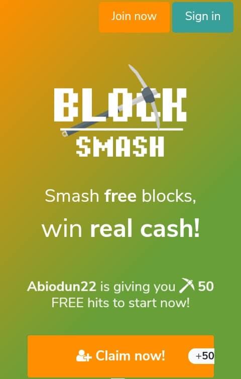 Blocksmash Sign Up