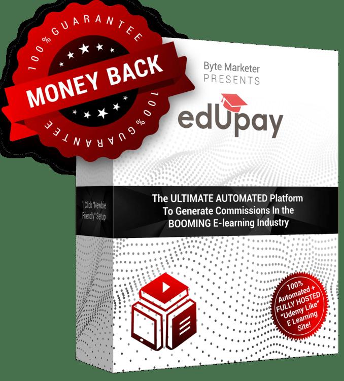 EdUpay Money Back Guarantee