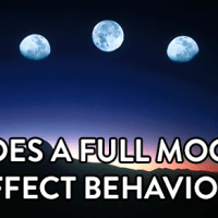 does a full moon affect behavior