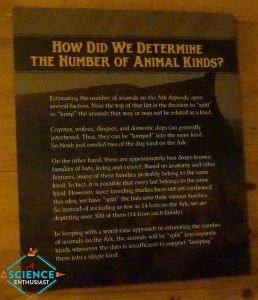 Ark Encounter Kinds of Animals