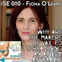 Fiona O'Leary Autism Advocate Science Enthusiast Podcast Episode 010 Logo Cover
