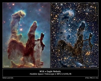 hubble space telescope eagle nebula