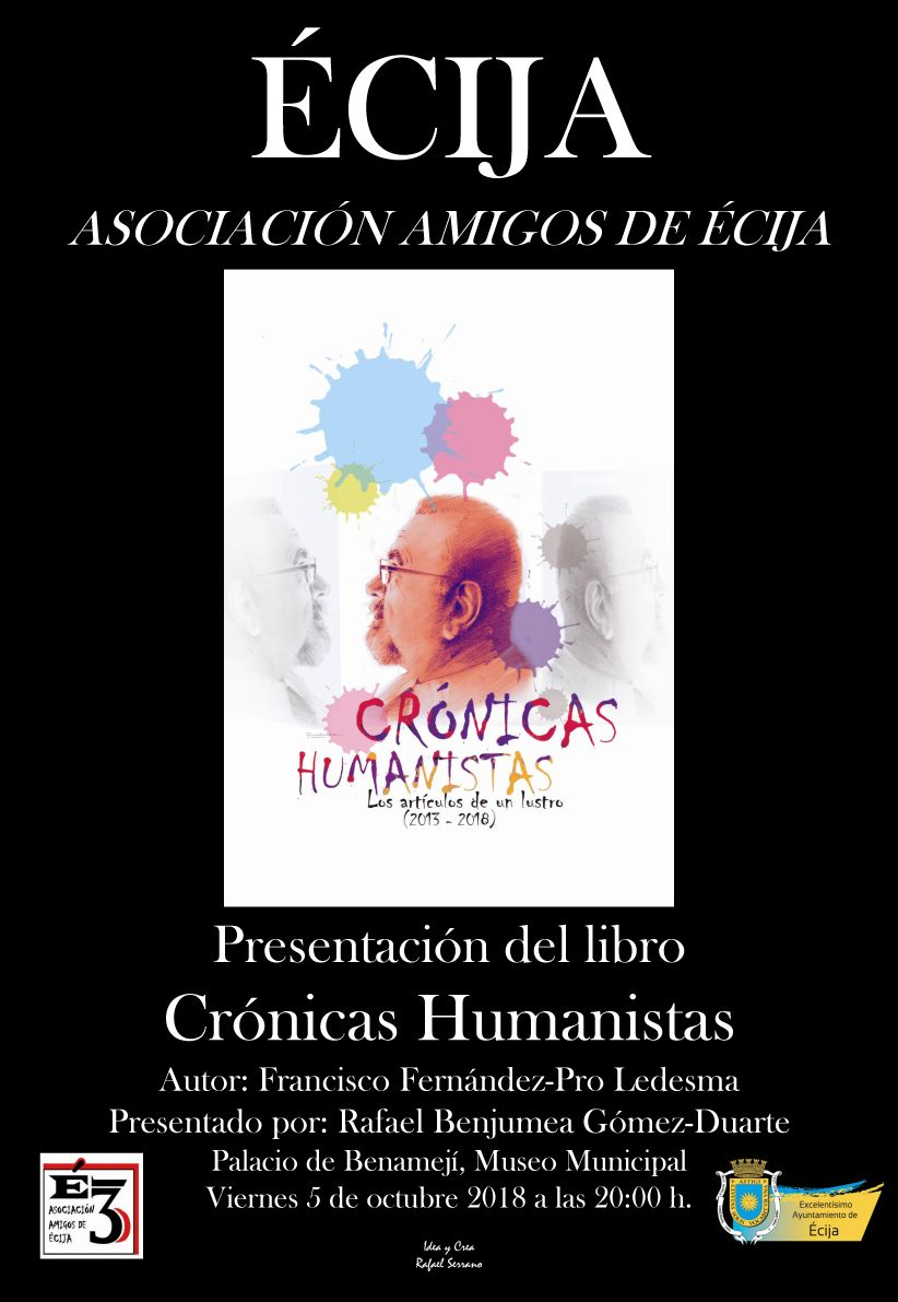 """PRESENTACIÓN DEL LIBRO """"CRÓNICAS HUMANISTAS"""""""