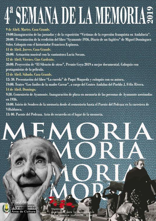 4ª Semana de la Memoria