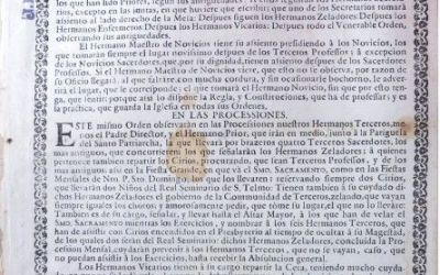 LA ORDEN TERCERA DE SANTO DOMINGO EN JEREZ DE LA FRONTERA A FINES DEL SIGLO XVIII