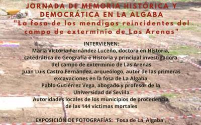 JORNADA DE MEMORIA HISTÓRICA Y DEMOCRÁTICA EN LA ALGABA