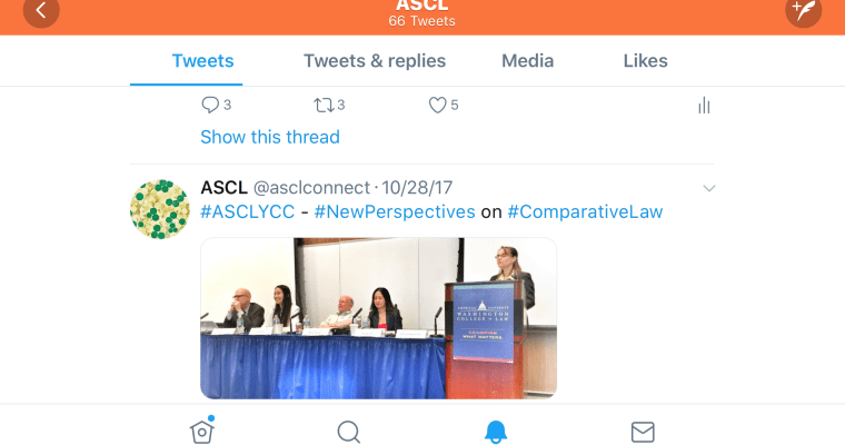 ASCLConnect is on Twitter & Facebook
