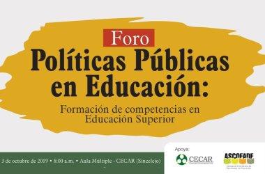 6 Foro Políticas Públicas en Educación Superior. UniNorte
