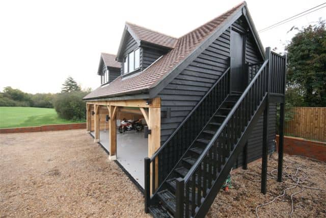 Room Above Garage In Bedfordshire Ascot Timber Buildings