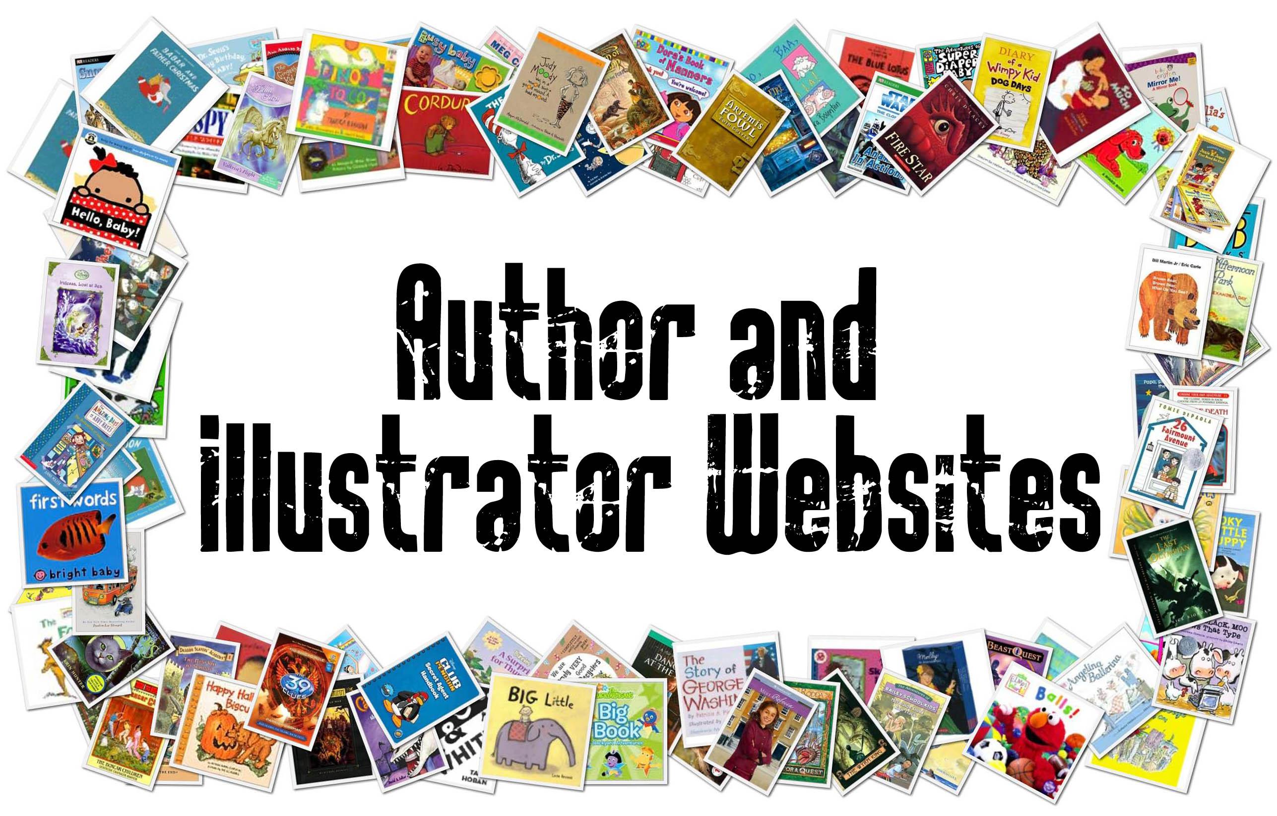 Children S Author And Illustrator Websites