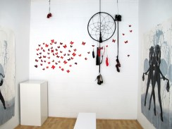 Installation view of ASC/AiR III: Geri Montano