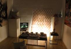 Installation view of Live/Work: An Alternative Showcase