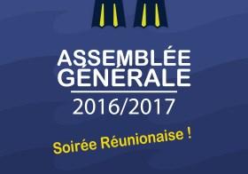 Assemblée Générale et Soirée d'accueil 2016/2017