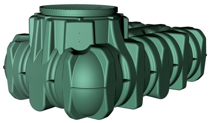 Garantia by GRAF 5000LT LiLo Underground Tank