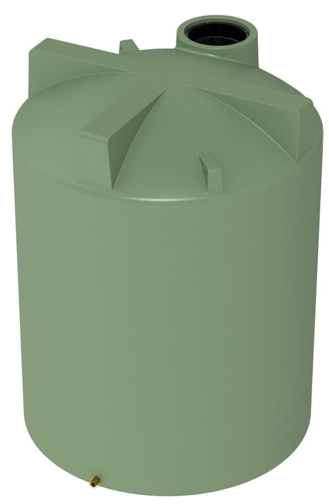3000 LT Pro Plastics Round Rain Water Tank