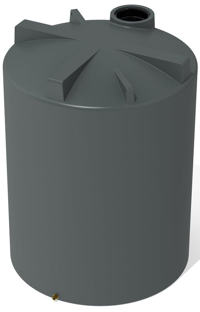 5000 LT Pro Plastics Round Rain Water Tank