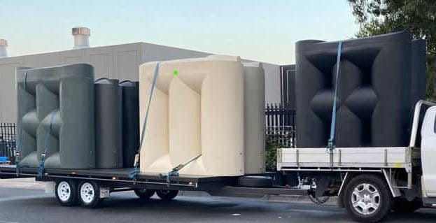 2000 Litre Slimline Water Tanks Melbourne
