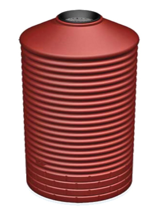 poly rainwater tanks - 1600 LT