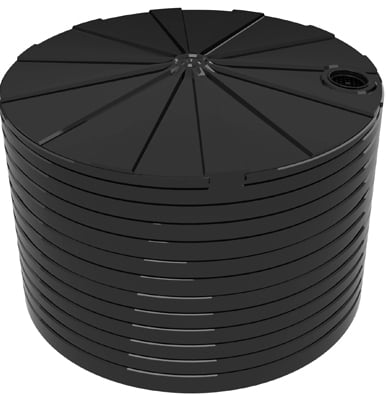 46400 LT Bushmans Round Rain Water Tank