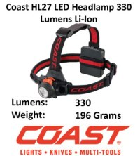 Focusing LED Headlamp - Coast