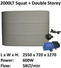 colorbond2000 squat ferro