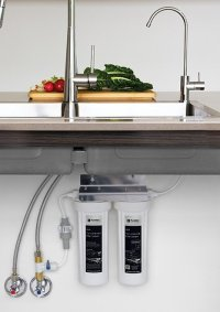 twin undersink water filter