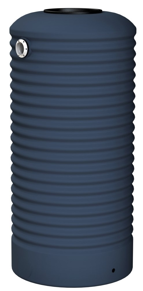 1000 LT Rotoplas Round Water Tank