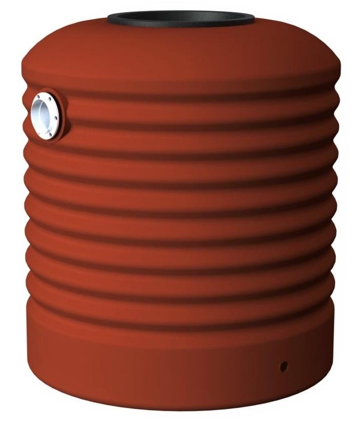 500 LT Rotoplas Round Water Tank