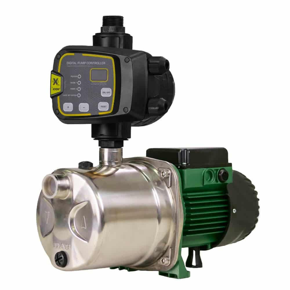 DAB-JINOX82NXTP - Stainless Steel Self Priming Jet Pump with nXt PRO Pump Controller 47m 0.6kW