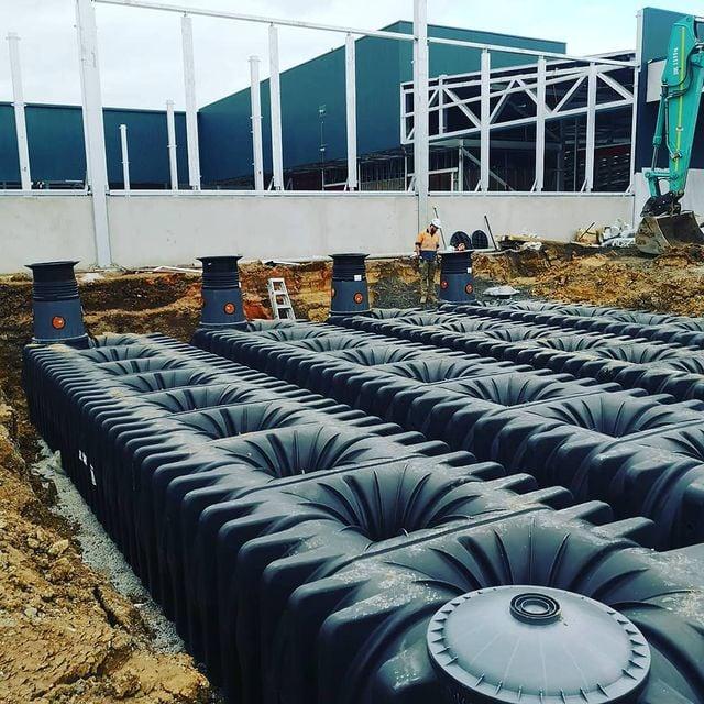 Underground water Tanks installed