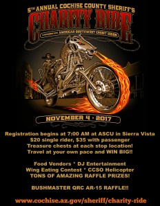 charity ride flyer all info