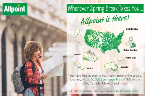 Allpoint ATMS are everywhere