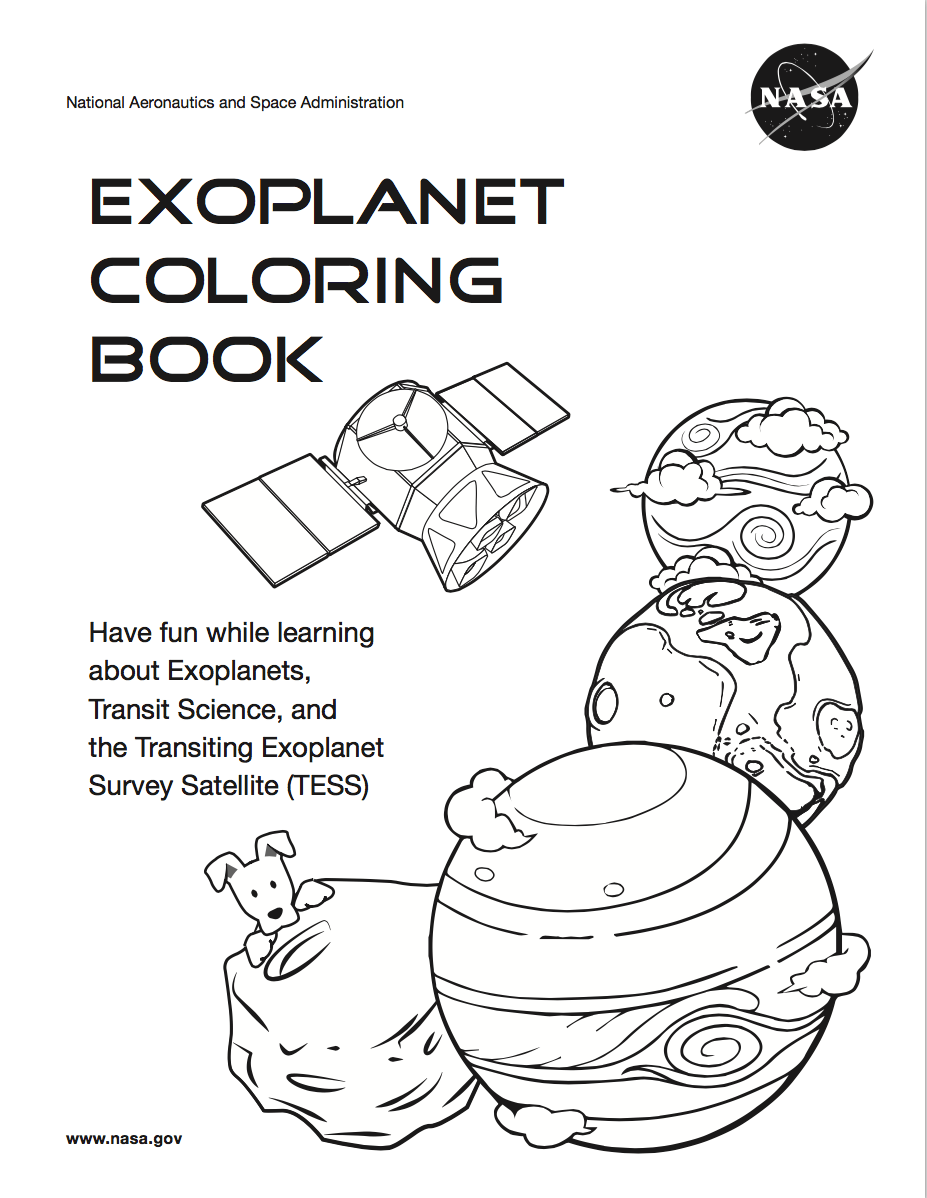 Color Your Own Worlds NASA Blueshift