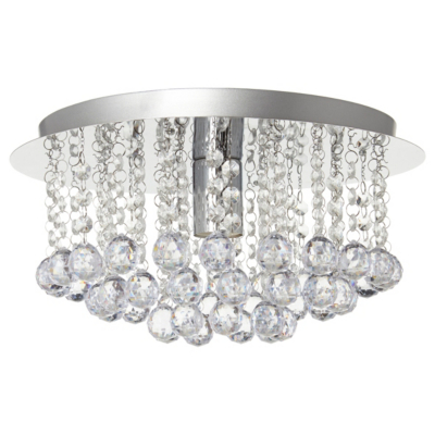George Home Faux Crystal Ball Ceiling Light Fitting