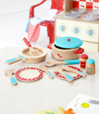 George Home Wooden Cooking Set