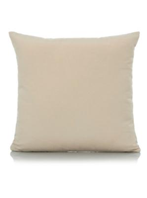 George Home Chenille Stripe Cushion 40x40cm - Blue