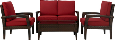 Jakarta Expressions Sofa Set - Red