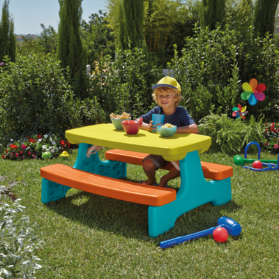 Kids Large Folding Table And Bench