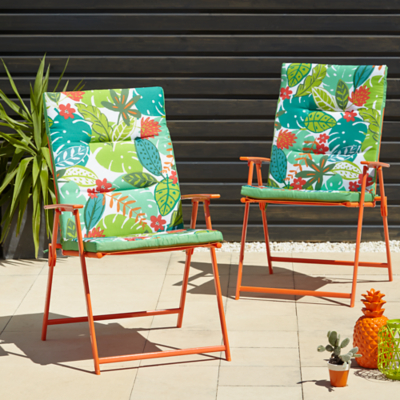 Miami 6 Piece Patio Set - Botanical