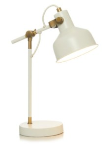 George Home Cream Desk Lamp   Home   Garden   George at ASDA Cream Desk Lamp