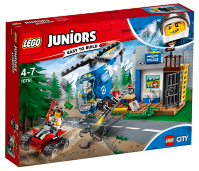 LEGO Juniors Mountain Police Chase 10751 Toys Amp Character George