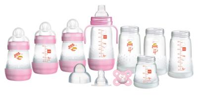 mam easy start bottle set small pink