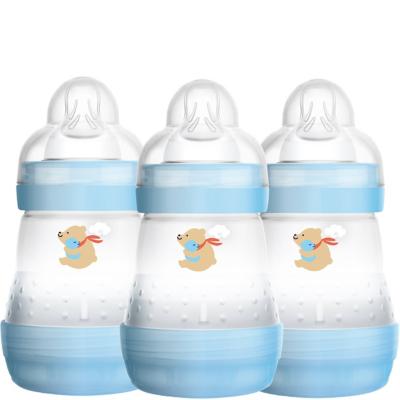 mam easy start 160ml bottle 3 pack boy