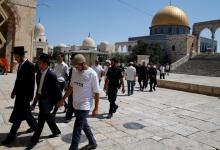 صورة مستوطنون يقتحمون باحات المسجد الأقصى..